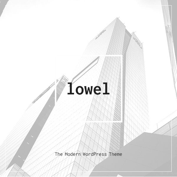 Lowel theme cover image